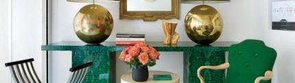 Важные мелочи в дизайне интерьеров дизайн интерьера, изумрудный цвет