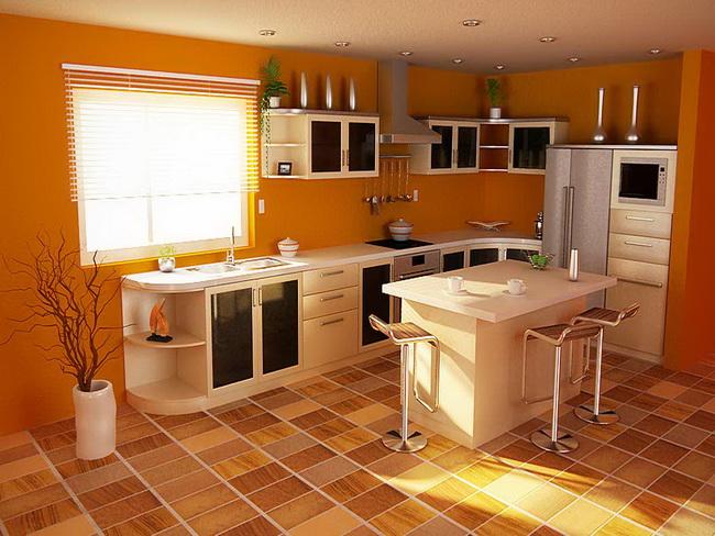 Как из большой кухни сделать еще и гостиную 199