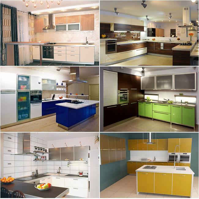 Кухонная мебель в стиле модерн