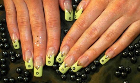 аква дизайн ногтей: