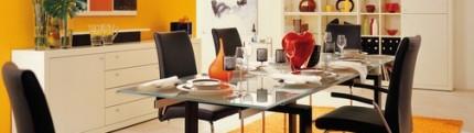Интерьер кухни/ столовой
