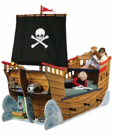 Кровать детская корабль своими руками 58
