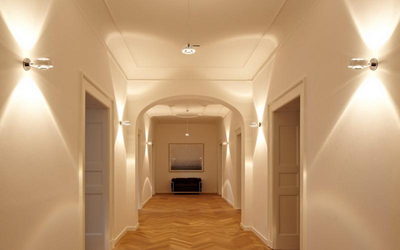 Какие светильники лучше для коридора