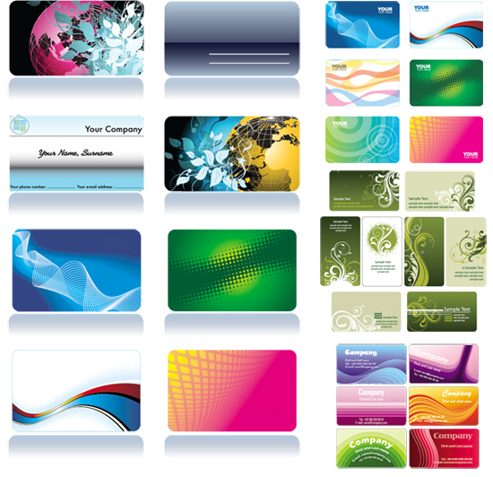 образцы визиток в картинках